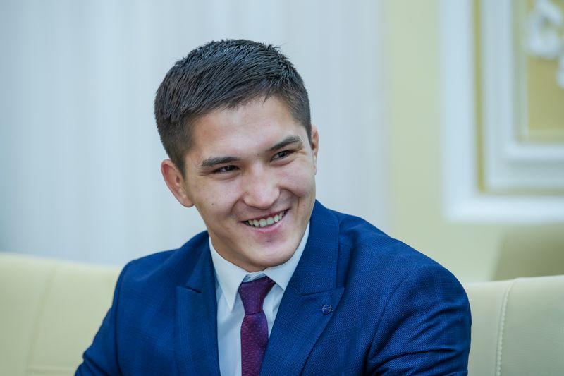 С чемпионами мира по самбо встретился аким ЗКО