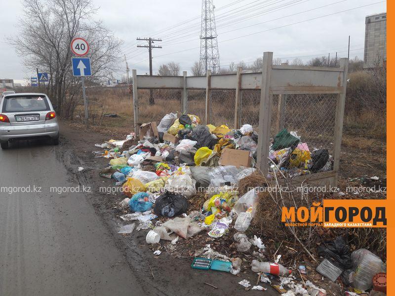 Новости Уральск - В Уральске воруют контейнеры для мусора