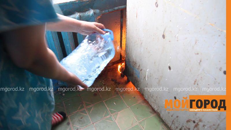 Новости Уральск - Жители общежития в Уральске своими силами потушили пожар