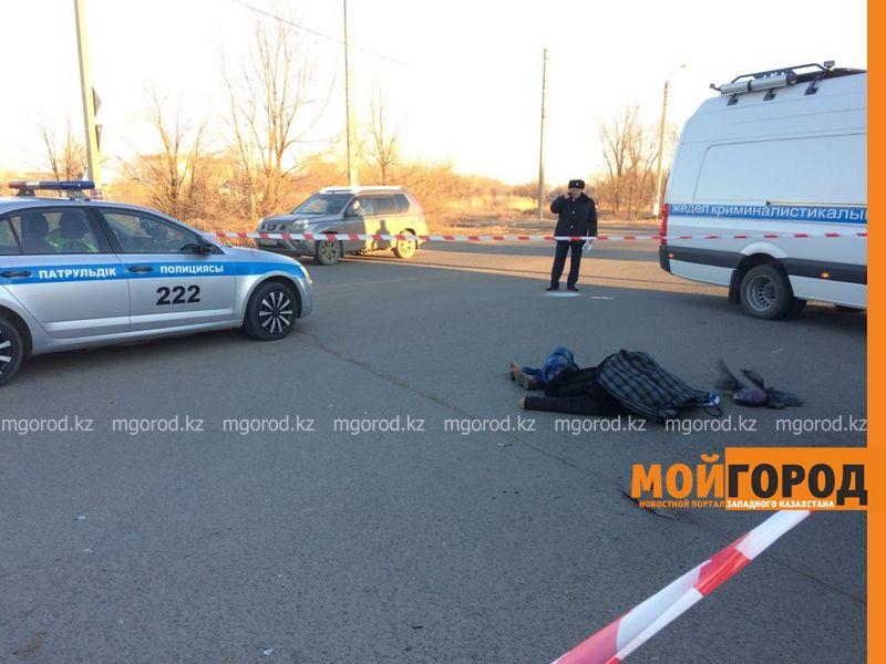 В Уральске насмерть сбили человека
