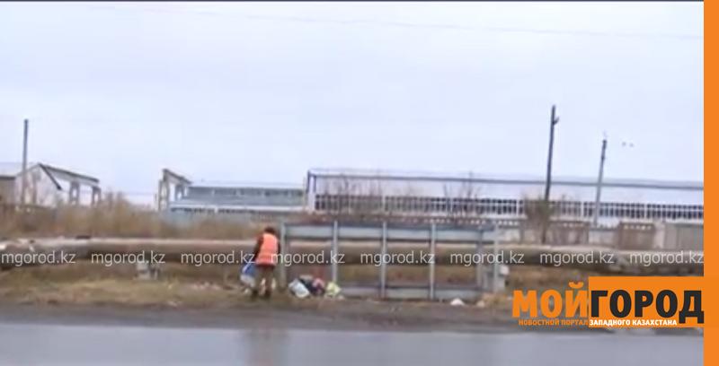 Новости Уральск - Оралда қоқыс контейнерлері ұрлануда