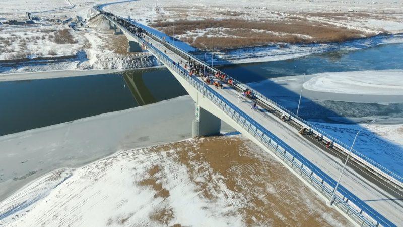 Новости Атырау - В Атырауской области сдали в эксплуатацию новый мост