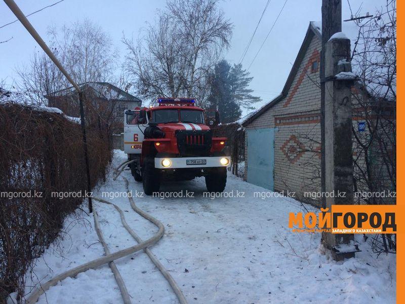 Новости Уральск - В Уральске сотрудник полиции спас из огня человека