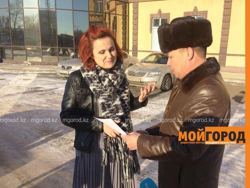 Предпринимателей Уральска будут штрафовать за неубранный снег на территории
