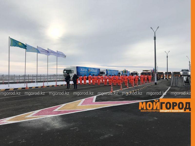 В ЗКО сдали автодорогу Уральск-Таскала-граница РФ