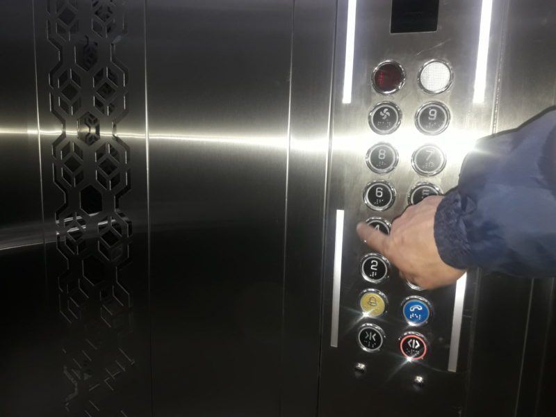 Новости Атырау - В девятиэтажках Атырау начали работать новые лифты