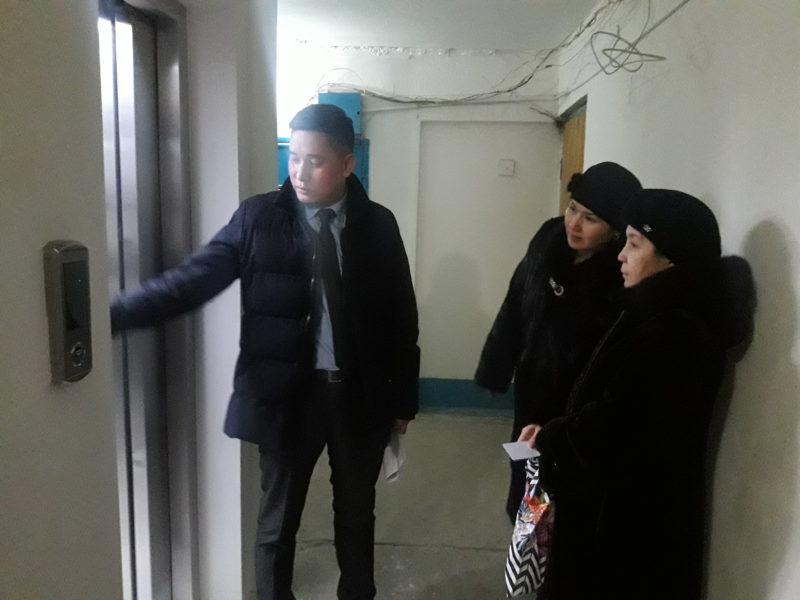 Новые турецкие лифты заработали в многоэтажках