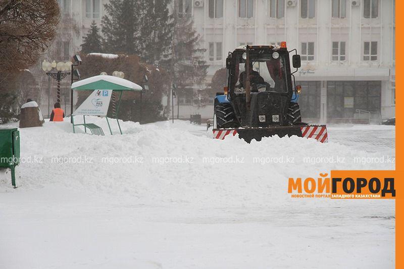 Новости Уральск - На ЗКО обрушилась сильная метель (фото)