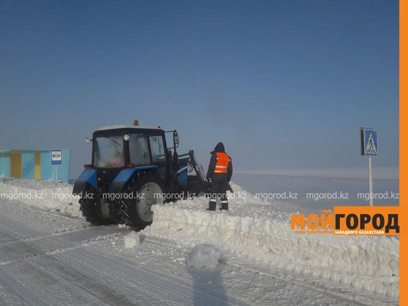 Новости Уральск - В ЗКО не хватает техники для очистки автодорог