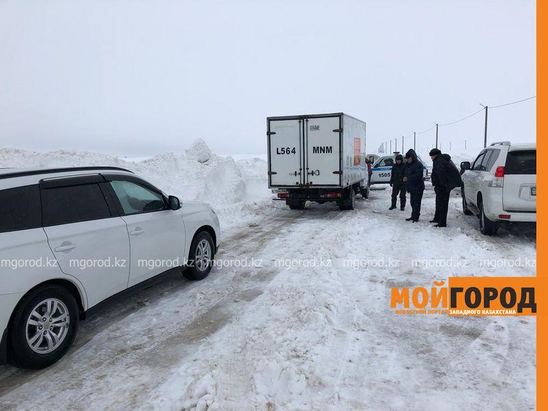 23 человека спасли из снежного плена в ЗКО