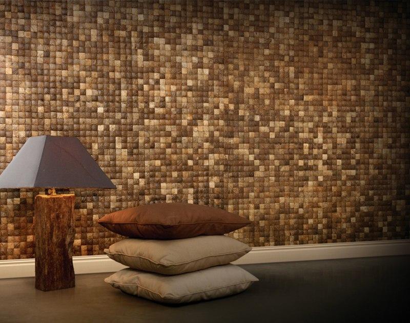 Новости PRO Ремонт - Отделочный материал из кокоса - нестандартно, эффектно, с заботой о вашем здоровье.