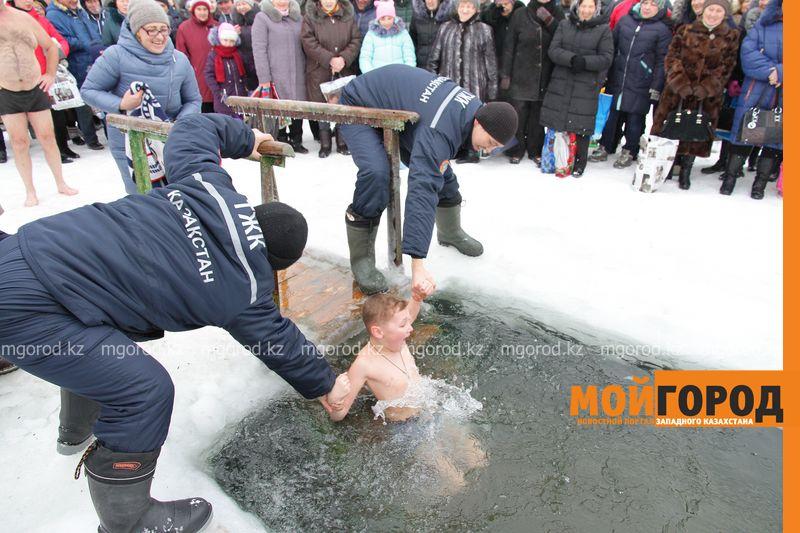 14 мест для купания на Крещение определили в Уральске