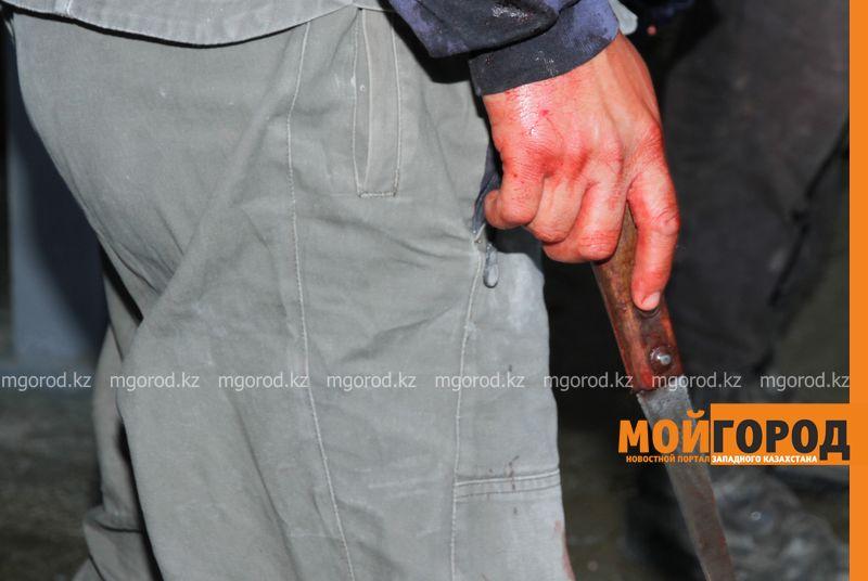 Новости Атырау - Мужчина ранил ножом женщину на улице в Атырау