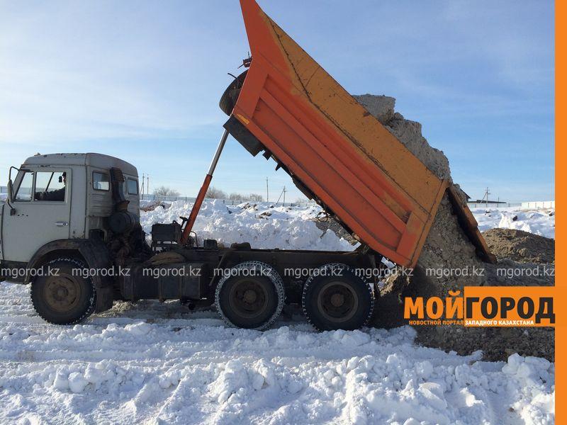 349 тысяч кубометров снега вывезено из Уральска