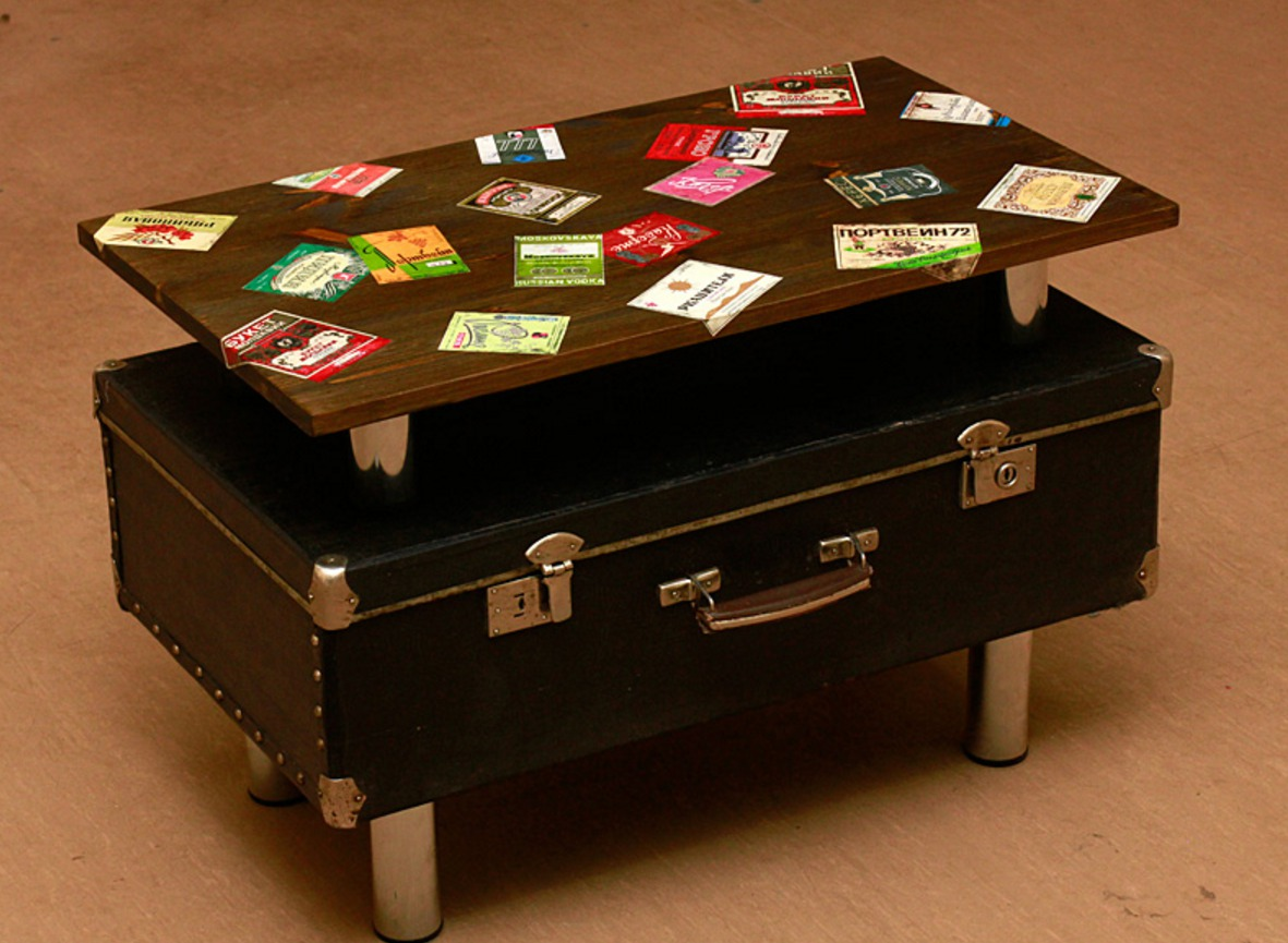 Новости PRO Ремонт - Эксклюзив и польза от старого чемодана
