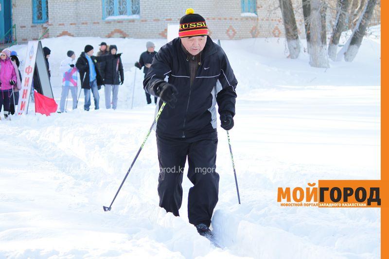 Новости Уральск - Спортсмены с ограниченными возможностями приняли участие в соревнованиях на лыжах