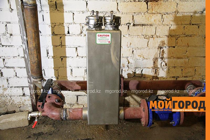 Новости Уральск - В многоквартирном доме Уральска установили магнитный фильтр для очистки воды по канадским технологиям