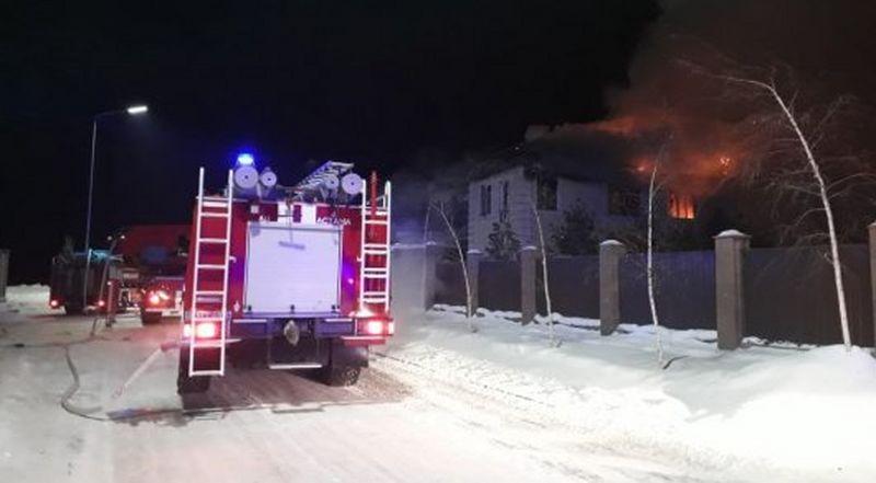 Новости - Тела пятерых детей обнаружили на месте пожара в Астане