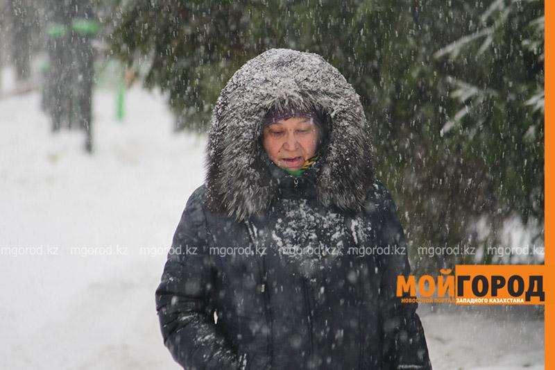 Снег с дождем ожидаются в ЗКО