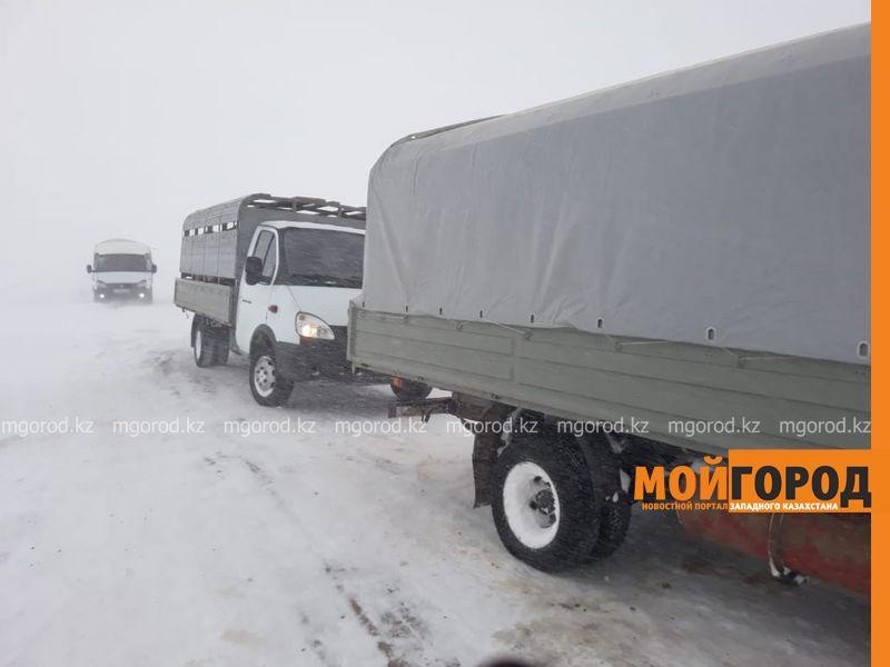 Четверо граждан России застряли в снежном заносе в ЗКО