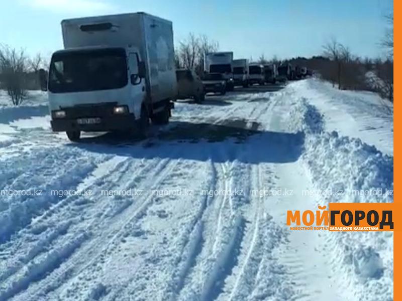 Новости Уральск - 143 человека вызволили спасатели из снежного плена в ЗКО (видео)