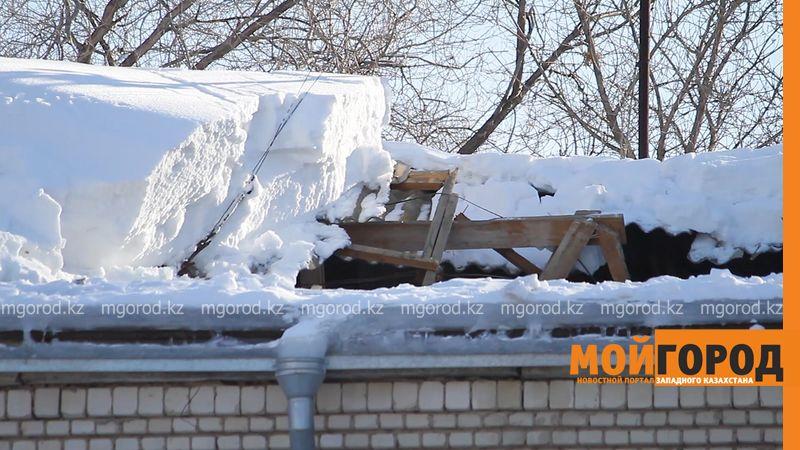 В детском саду Уральска обрушилась крыша