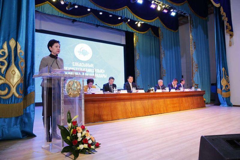 Новости - Вице-премьер Абдыкаликова рассказала о работе по улучшению качества жизни жителям Атырауской области