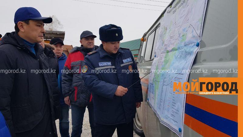 Более 900 тысяч кубометров снега вывезено из Уральска