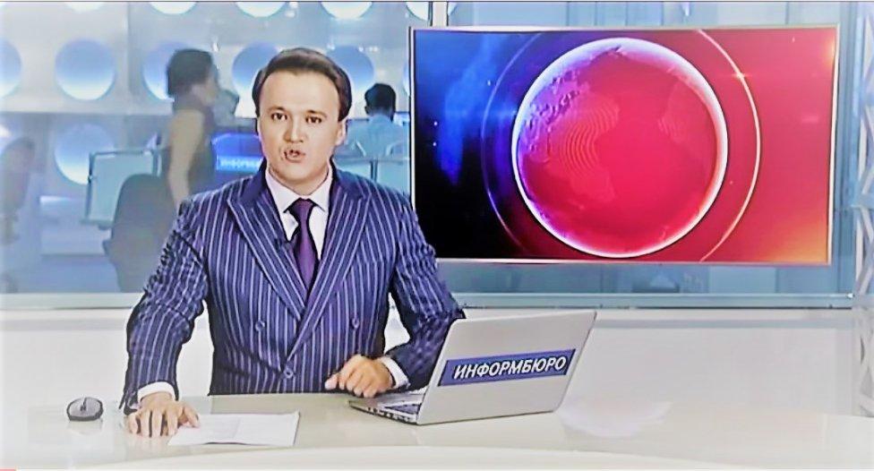 Новости Актау - Телеведущий новостей прославил Казахстан (видео)