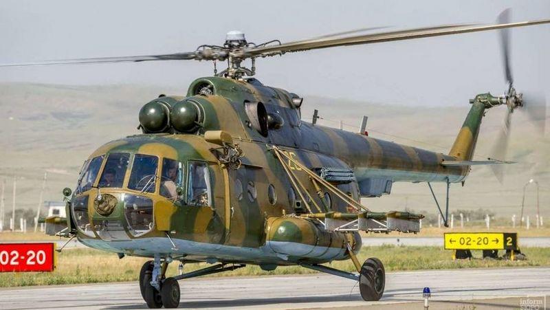 Новости - Вертолет Минобороны упал в Кызылординской области: есть погибшие