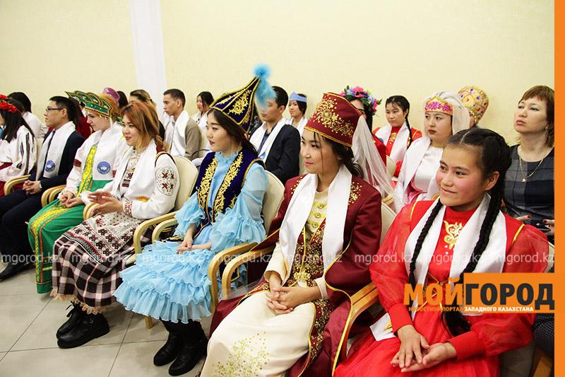 Новости Уральск - Аким ЗКО поздравил членов ассамблеи народа Казахстана с Днем благодарности