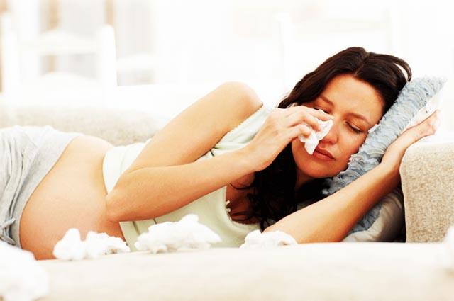 Новости Актау - Простуда во время беременности: выручат народные средства