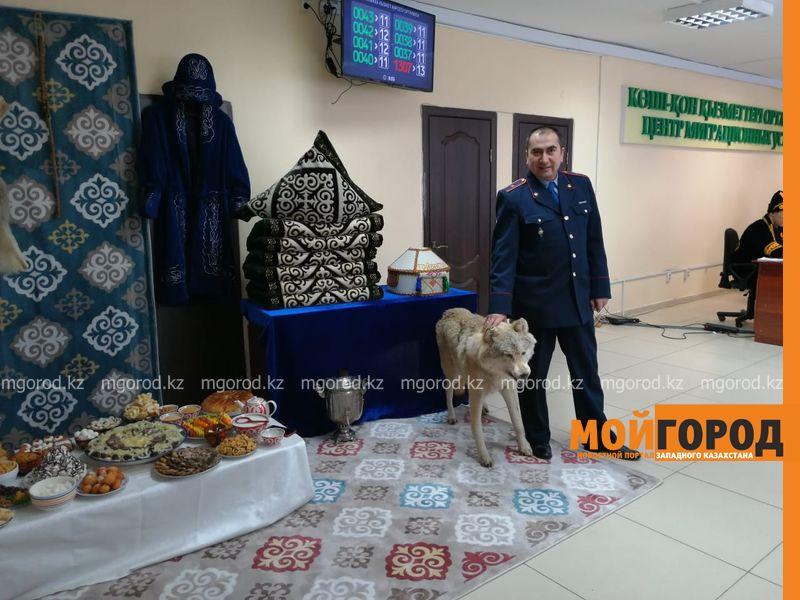 Новости Уральск - В центре миграционных услуг департамента полиции ЗКО посетителей угощали «Наурыз-коже» и бауырсаками
