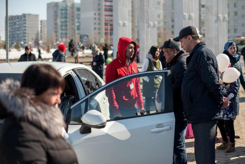 Новости Уральск - Представлена новая модель Corollaот «Тойота-Центр Уральск»