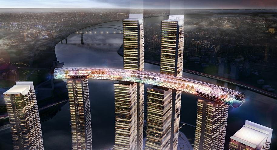 """Новости Актау - Единственный в мире """"Небесный мост"""""""