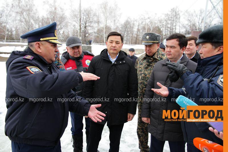 Готовность ЗКО к паводковому периоду проверил заместитель премьер-министра РК