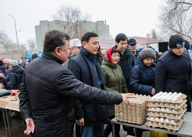 Новости Уральск - Аким ЗКО посетил сельскохозяйственную ярмарку