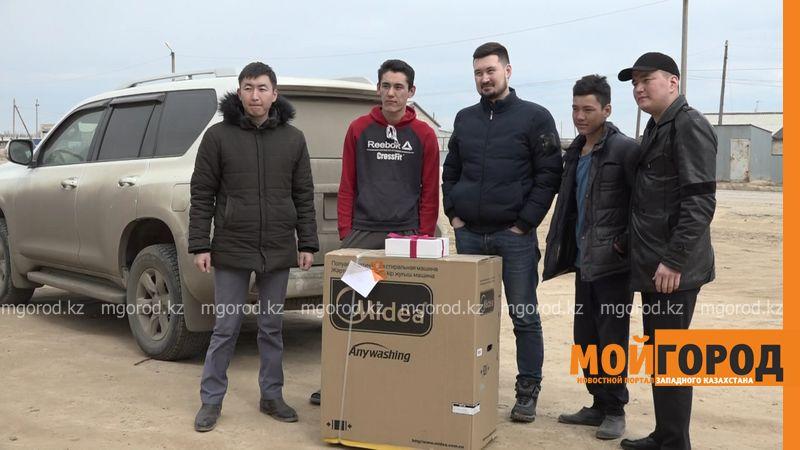 Новости Уральск - Волонтеры помогли многодетным семьям в ЗКО