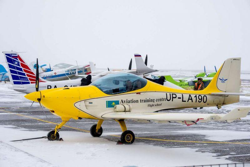Новости - Самолёт лёгкой авиации разбился в Караганде