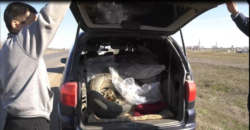 """Житель ЗКО перевозил две тонны рыбы на """"Газели"""""""