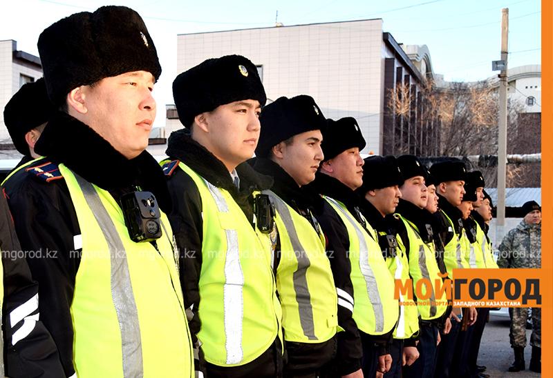 Набережную Атырау будет патрулировать специальный взвод полиции