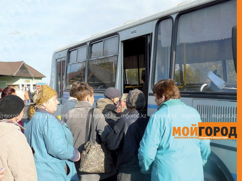 В Атырау на линию выходят пассажирские автобусы, не прошедшие техосмотр