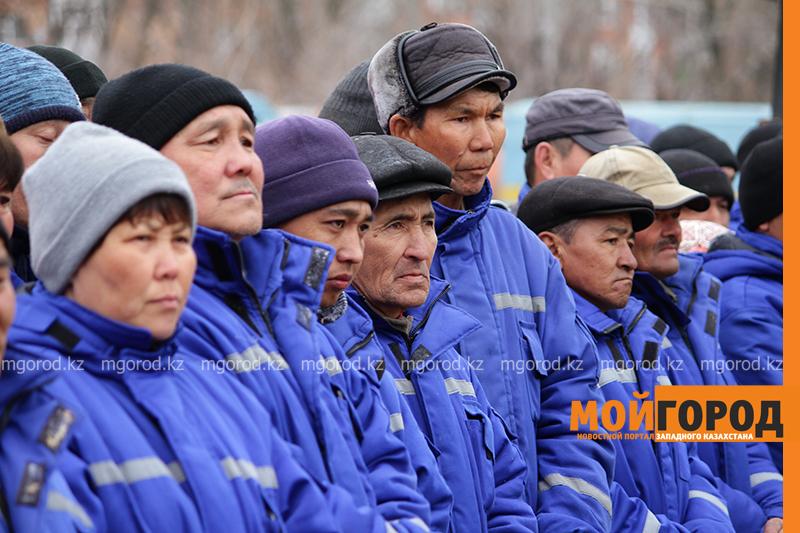 Новости Уральск - Аким ЗКО поблагодарил коммунальщиков за очистку города от снега