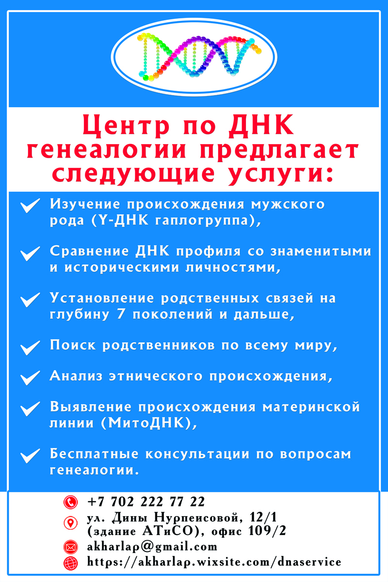 Новости Уральск - Уральский специализированный центр по ДНК-тестированию сообщает о продлении весенних скидок