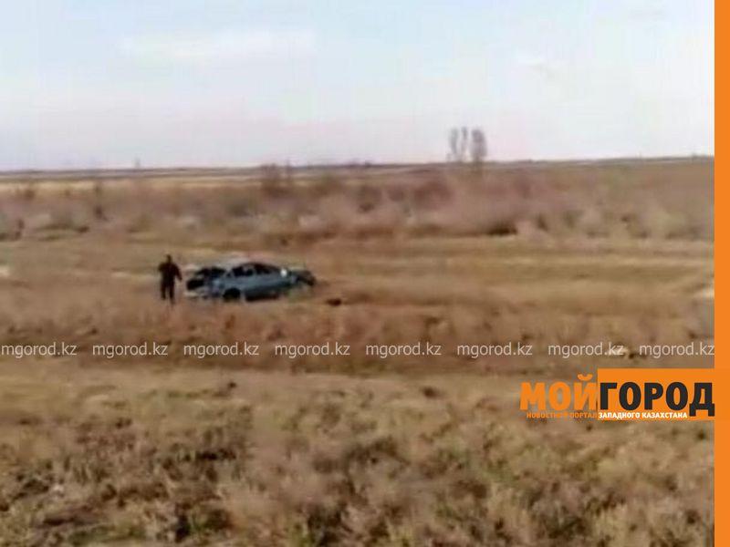 В ДТП на трассе Уральск - Аксай насмерть разбился мужчина