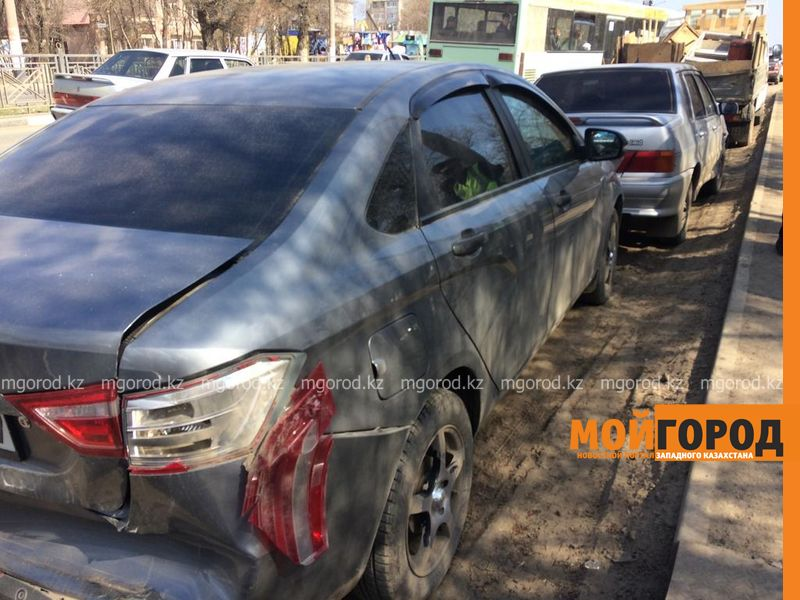 Новости Уральск - В Уральске произошло массовое ДТП: есть пострадавшие