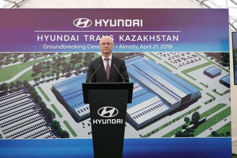 Новости - Завод по производству автомобилей марки Нyundai построят в Алматы
