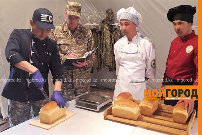 Военные повара и пекари запада стали лучшими в Вооруженных Силах