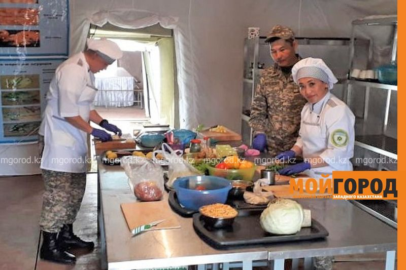 Новости Актобе - Военные повара и пекари запада стали лучшими в Вооруженных Силах