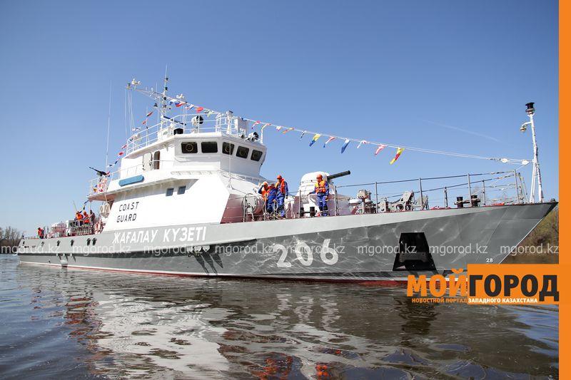 Тридцатый корабль спустили на воду в ЗКО
